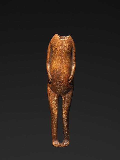 Anonymous Pre-Koniag artist (?), 'NEEDLE CASE (CE4280)', 200 BCE-500, Donald Ellis Gallery