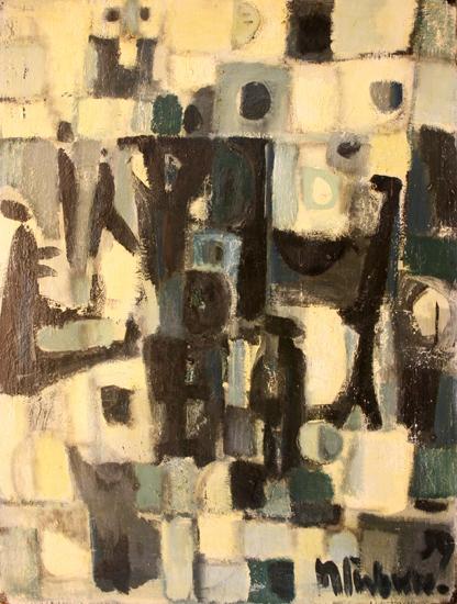 Herbert Siebner, 'Walking and Wondering', 1959, Wallace Galleries