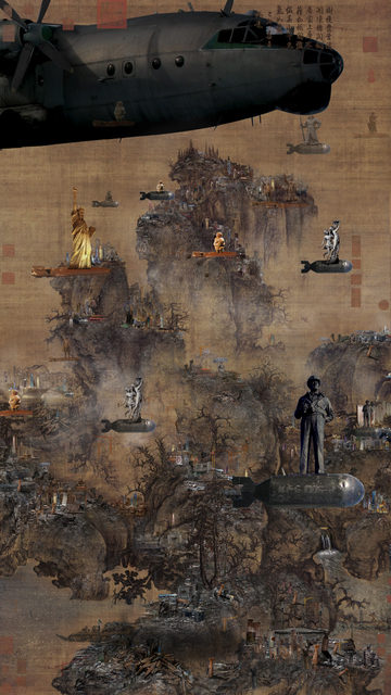 Lee Nam Lee, 'Early Spring Drawing-The Battle of Civilization', 2010, Leehwaik Gallery