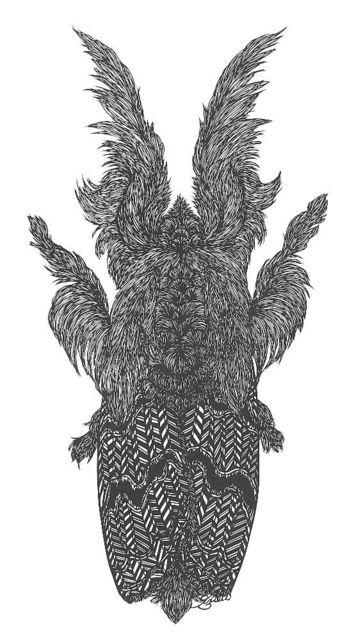 , 'Moth No. 2,' 2019, Blue Spiral 1