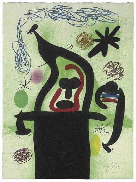 Joan Miró, 'La Harpie', 1969, Christie's