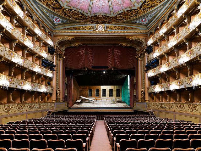 , 'Teatro São Carlos, Lisbona,' 2017, Holden Luntz Gallery