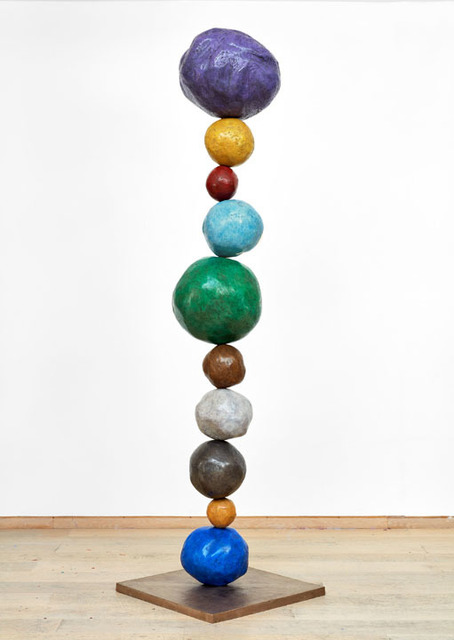 , 'Bronze Stack 10, Studio Violet,' 2017, Winston Wächter Fine Art