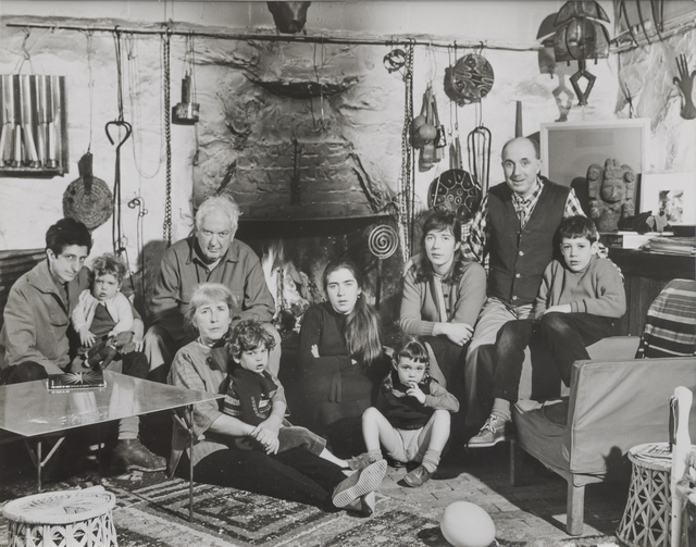 , 'The Calder Family at Christmas, Roxbury, CT,' 1965, Edward Cella Art and Architecture