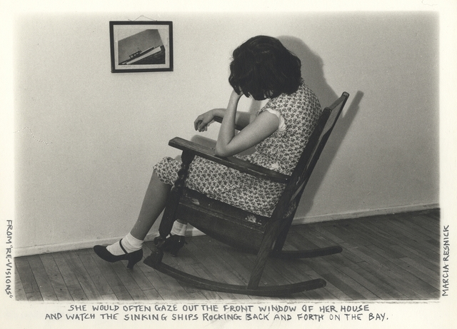 Marcia Resnick, 'She would often gaze out the front window and watch the sinking ships...', 1978, Paul M. Hertzmann, Inc.