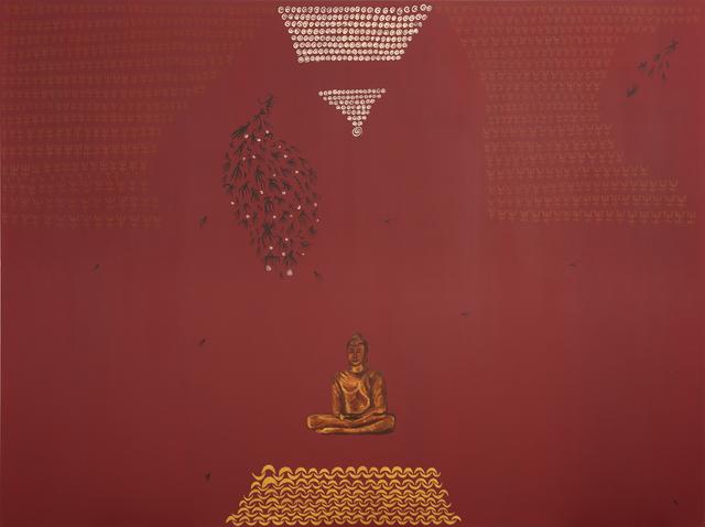 , 'Buddha's Timeless Delight,' 2019, Ekavart Gallery