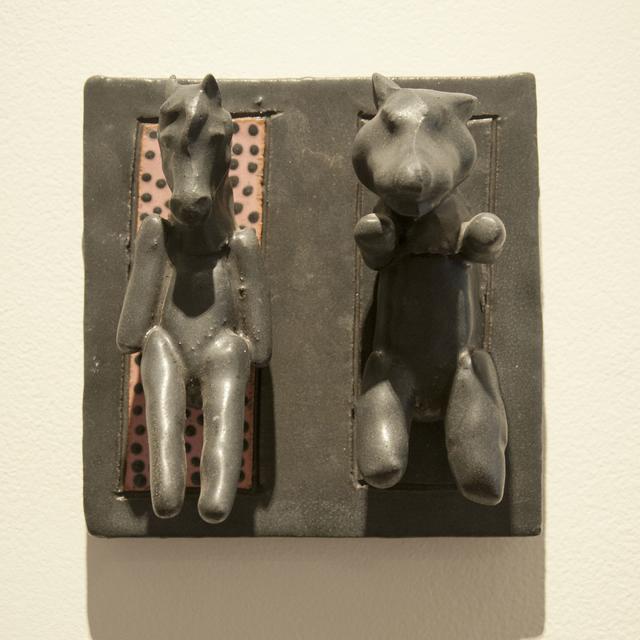 , 'Fox/Horse (tile),' 2010, Main Street Arts