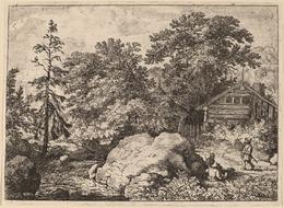 Allart van Everdingen, 'The Knoll', probably c. 1645/1656, National Gallery of Art, Washington, D.C.
