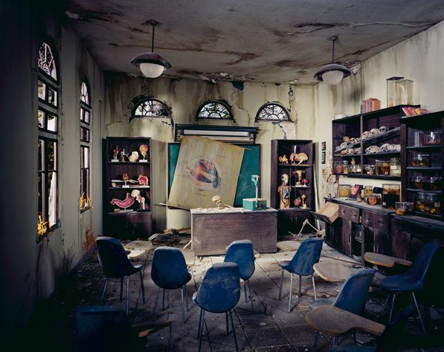 Lori Nix and Kathleen Gerber, 'Anatomy Classroom', 2012, ClampArt