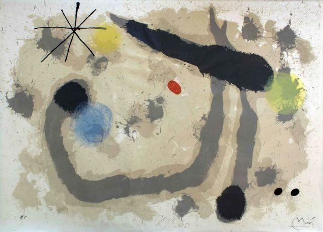 Joan Miró, 'Le Lézard aux Plumes d'Or', 1971, Wallector