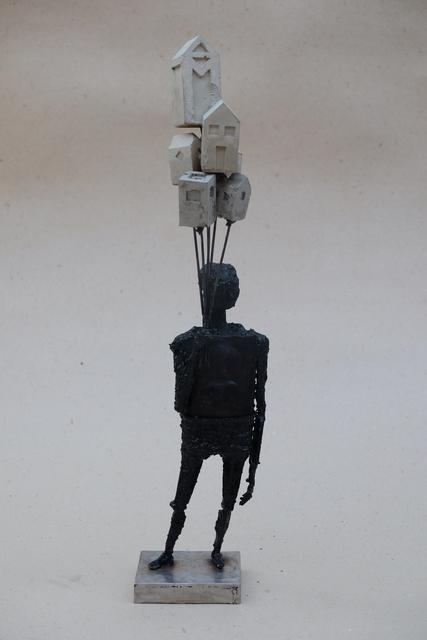 Pedro Luis Cuellar, 'El propietario /  The Owner', 2018, Sculpture, Welded steel and concrete, ArteMorfosis - Cuban Art Platform