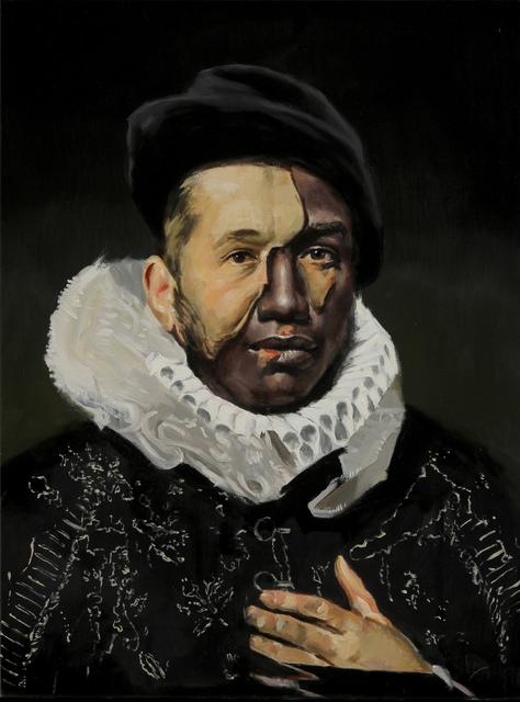, 'Lacunae Portrait #1,' 2017, Mirus Gallery