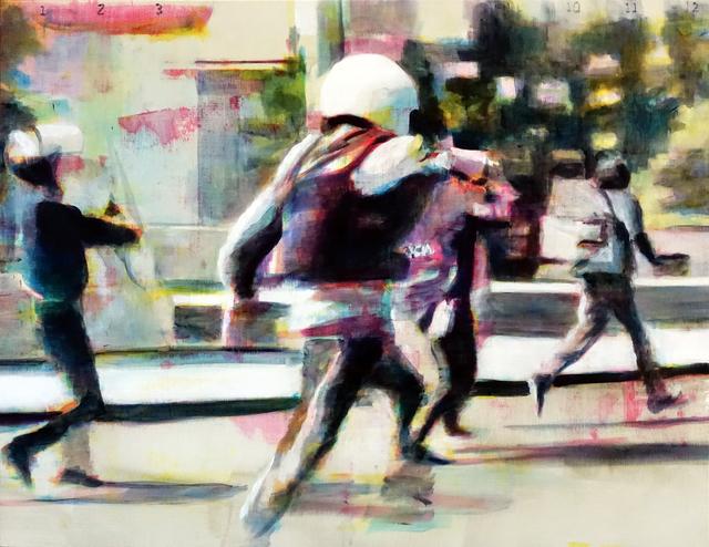 , 'Calles de fuego 3,' 2017, Galería Casa Lamm