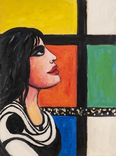 Pompeo Borra, 'Donna Alla Finestra', 1965, Itineris