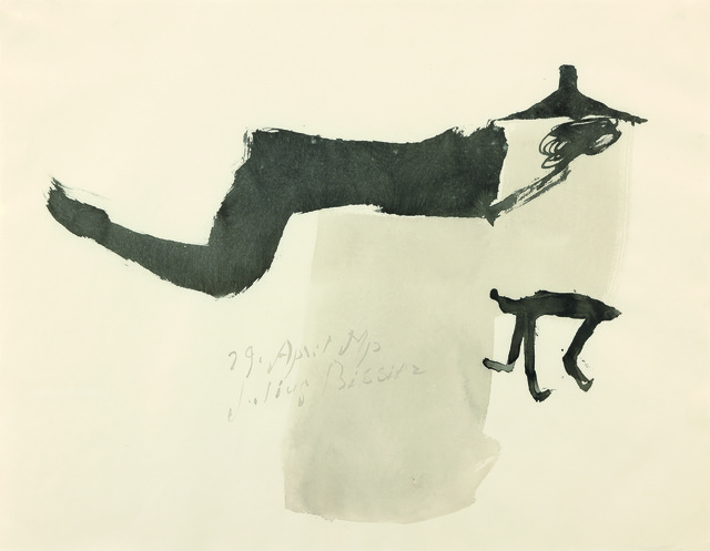 , '29 April 51 p,,' 1951, Galerie Carzaniga