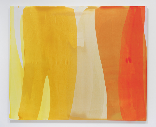 , 'Untitled (swells, gold),' 2014, Susanne Vielmetter Los Angeles Projects
