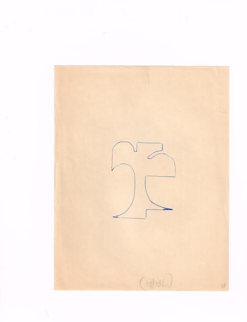 , 'Original de proyecto de libro pag1 de 14,' 1977, Galería del Paseo
