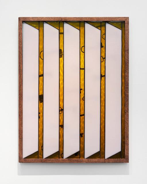 , 'Blinds,' 2019, Daniel Faria Gallery