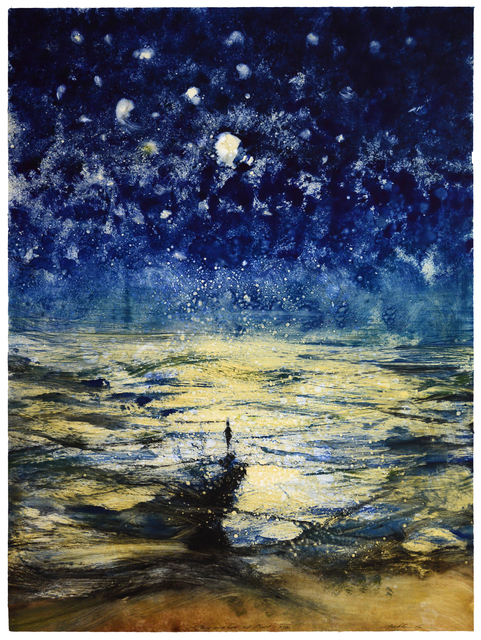 , 'Stars and Sea at Night XVII,' 2016, Marlborough London