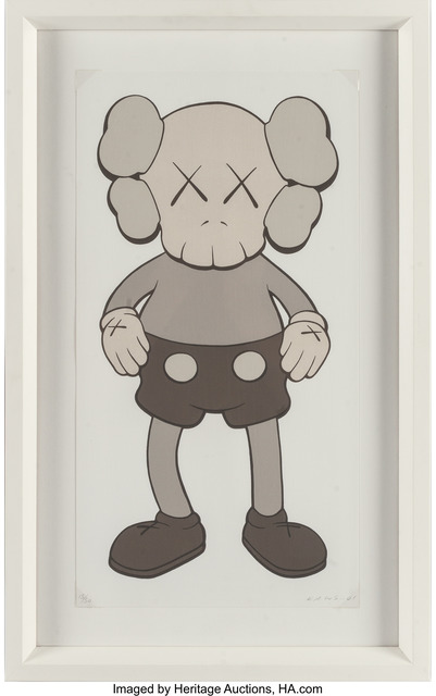 KAWS, '99 Companion (Gray)', 2001, Print, Screenprint in colors on wove paper, Heritage Auctions