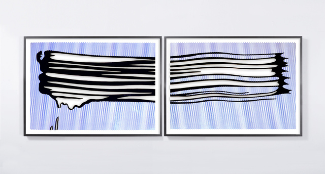, 'Untitled (Yellow Brushstroke II),' 2017, Galleri Nicolai Wallner
