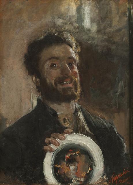 , 'Self Portrait with Plate,' ca. 1882-83, Jack Kilgore & Co.