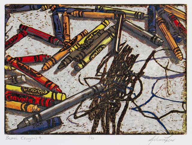 , 'Beau's Crayons,' 2017, Remarque Printshop