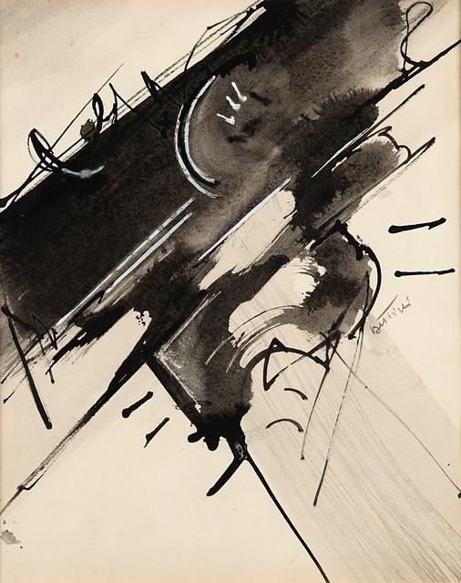 Gianni Bertini, 'Untitled', 1955, Finarte