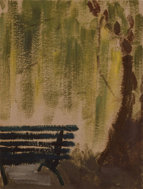 , 'Bench under a big tree (Zizhuyuan),' 1970s, Boers-Li Gallery