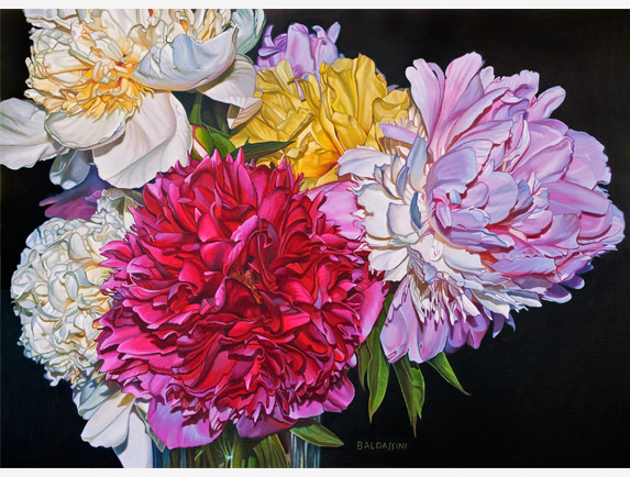 Paul Baldassini, 'Esther's Peony Bouquet', 2018, Addison Art Gallery