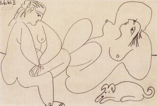 Pablo Picasso, 'Les Dejeuners', 1961, David Benrimon Fine Art