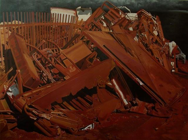 György Jovián, 'Landscape in red dirt - Demolition X', 2012, Faur Zsofi Gallery
