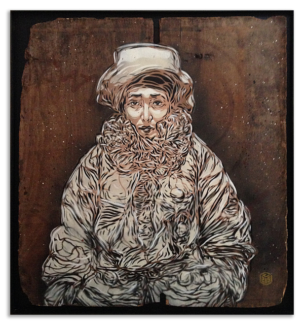C215, 'Sarah', 2014, StolenSpace Gallery