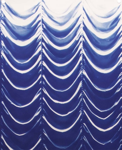 , 'Blueprint for a Curtain (domestic interior),' 2015, Frith Street Gallery