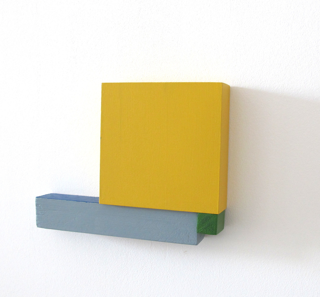 , 'Estructura 4 (Amarillo),' 2018, Galería La Caja Negra