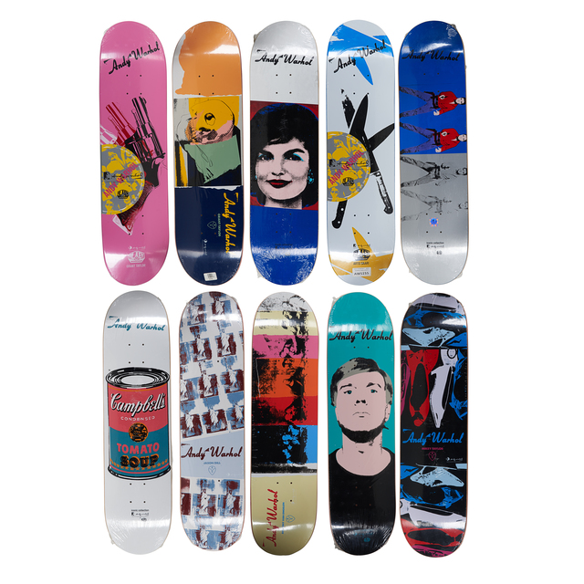Andy Warhol, 'Alien Workshop x Andy Warhol Skateboard Decks', ca. 2011, Rago/Wright