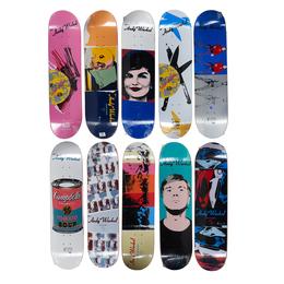 Alien Workshop x Andy Warhol Skateboard Decks