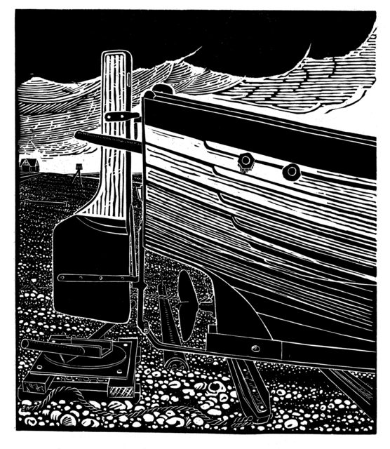 , ' Stern of an Aldeburgh Beach Boat,' , Dowling Walsh