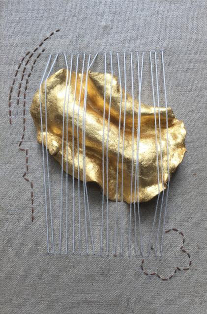 , 'Tender Golden Plate 01,' 2015, Art Vietnam Gallery