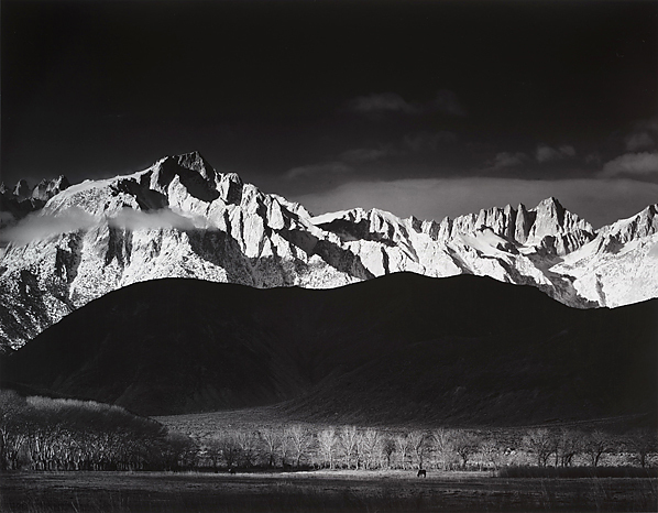 , 'Sierra Nevada from Lone Pine,' 1944, Scott Nichols Gallery