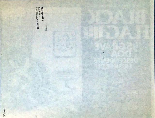 Raymond Pettibon, 'Raymond Pettibon Black Flag punk flyer 1982', 1982, Print, Offset printed handbill, Lot 180