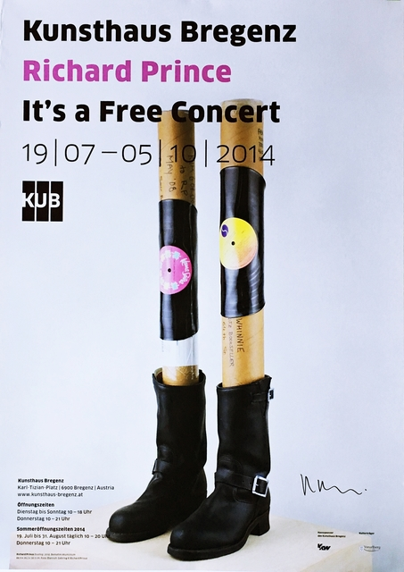 Richard Prince, 'It's a Free Concert (Hand Signed)', 2014, Alpha 137 Gallery