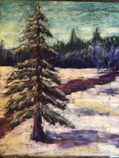 , 'First Snow,' 2018, Tim Collom Gallery