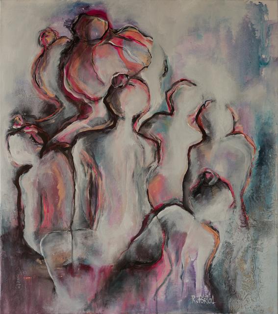 Roxana Portal, 'Arkana XII', 2017, Painting, Acrylic on canvas, ACCS Visual Arts
