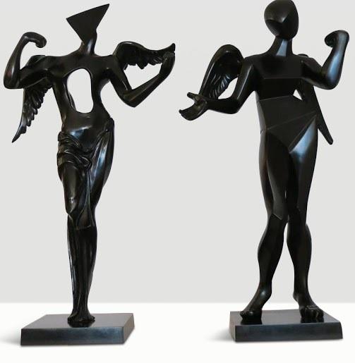 Salvador Dalí, 'Surrealist Angel & Cubist Angel', 1983, Robin Rile Fine Art