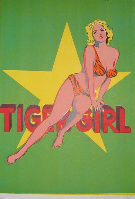 Mel Ramos, 'Tiger Girl', 1963, Kunzt Gallery