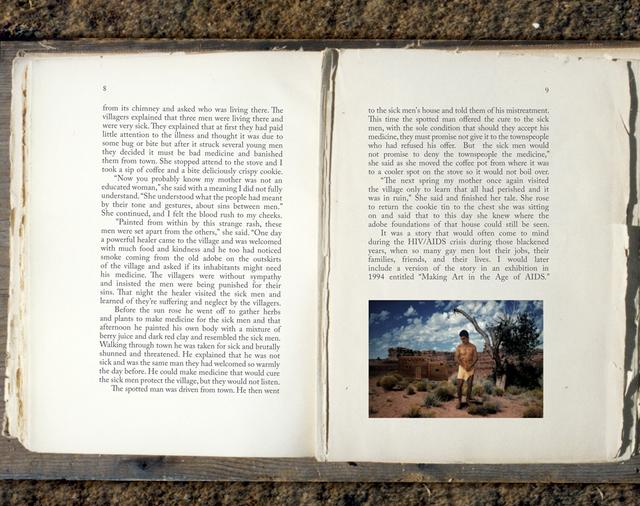 , 'Bone Grass Boy Spread #12,' 1993-1996 / 2017, Luis De Jesus Los Angeles