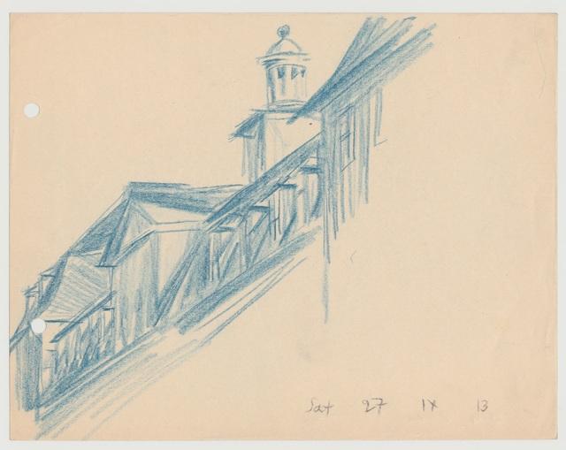 , 'Dächer, Weimar,' 1913, Henze & Ketterer