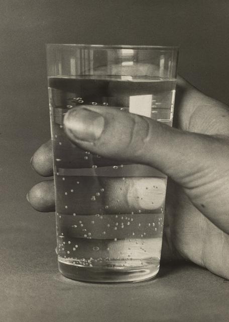 Elfriede Stegemeyer, 'Meine Hand mit Wasserglas', 1933, Galerie Julian Sander