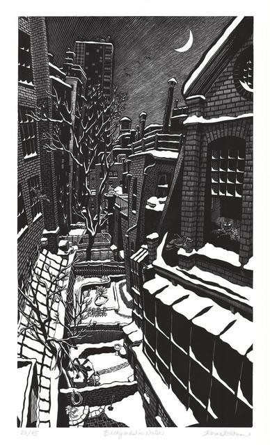 , 'Backyards in Winter,' 2005, Walter Wickiser Gallery